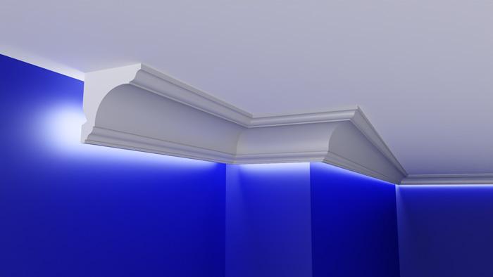 listwy przysufitowe LED warszawa sufit